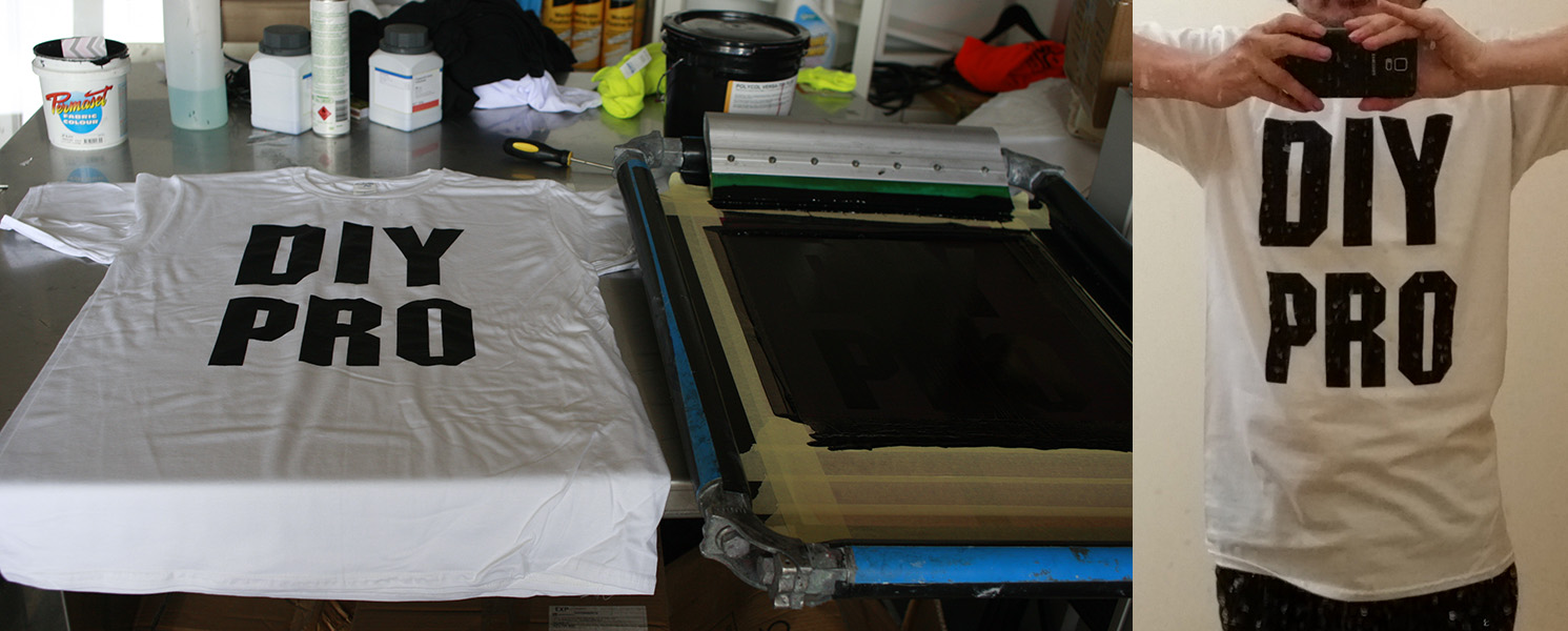 Guide To Screen Printing T Shirts At Home Diy Ghetto Style With